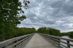 Bridge over Sangamon River