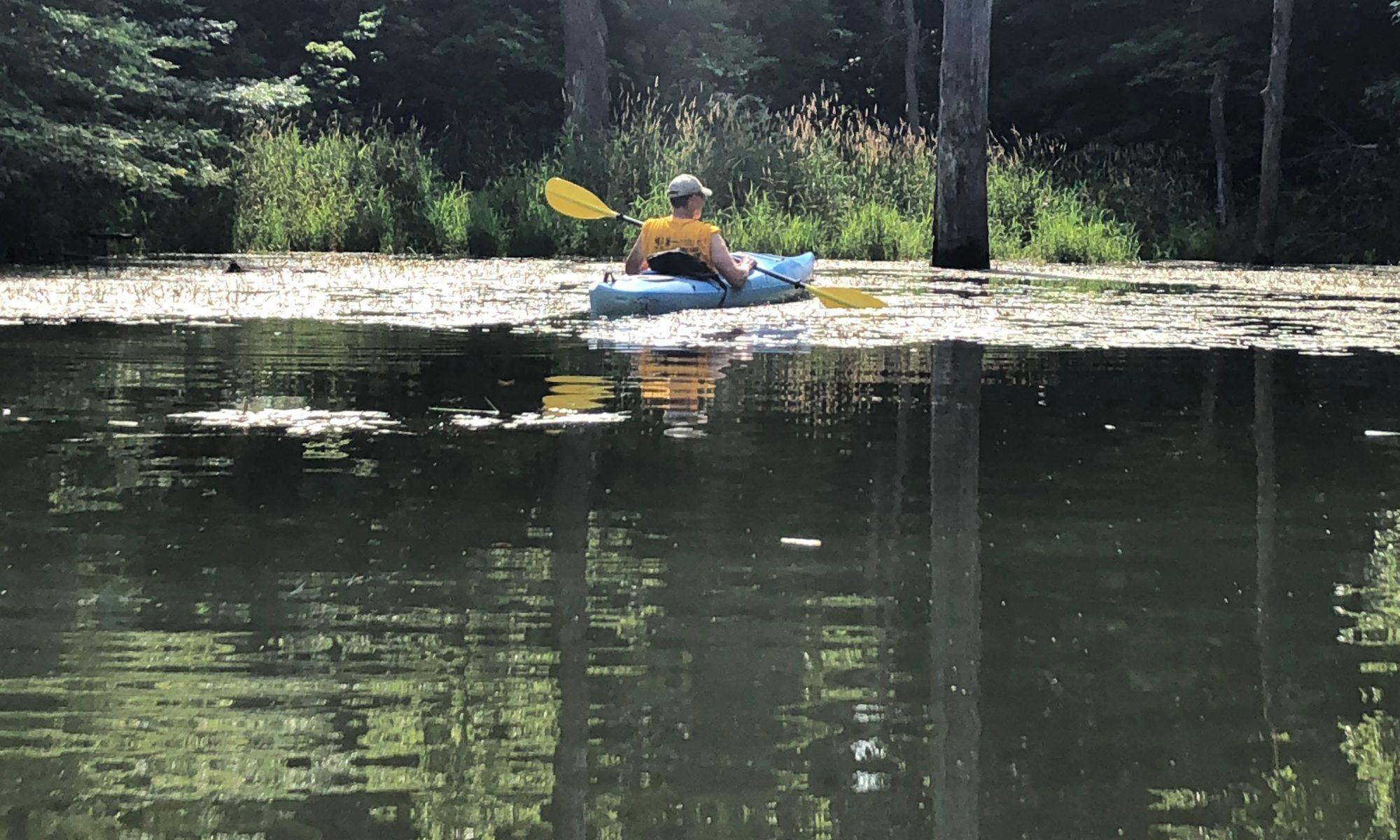 kayaking at panther creek