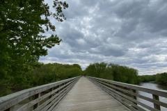 Bridge over Sangamon River
