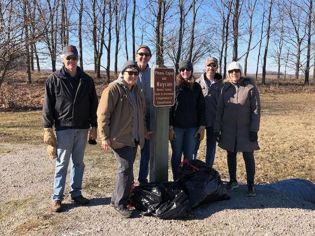 Wayside park volunteers