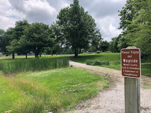 Wayside Park Entrance Trail