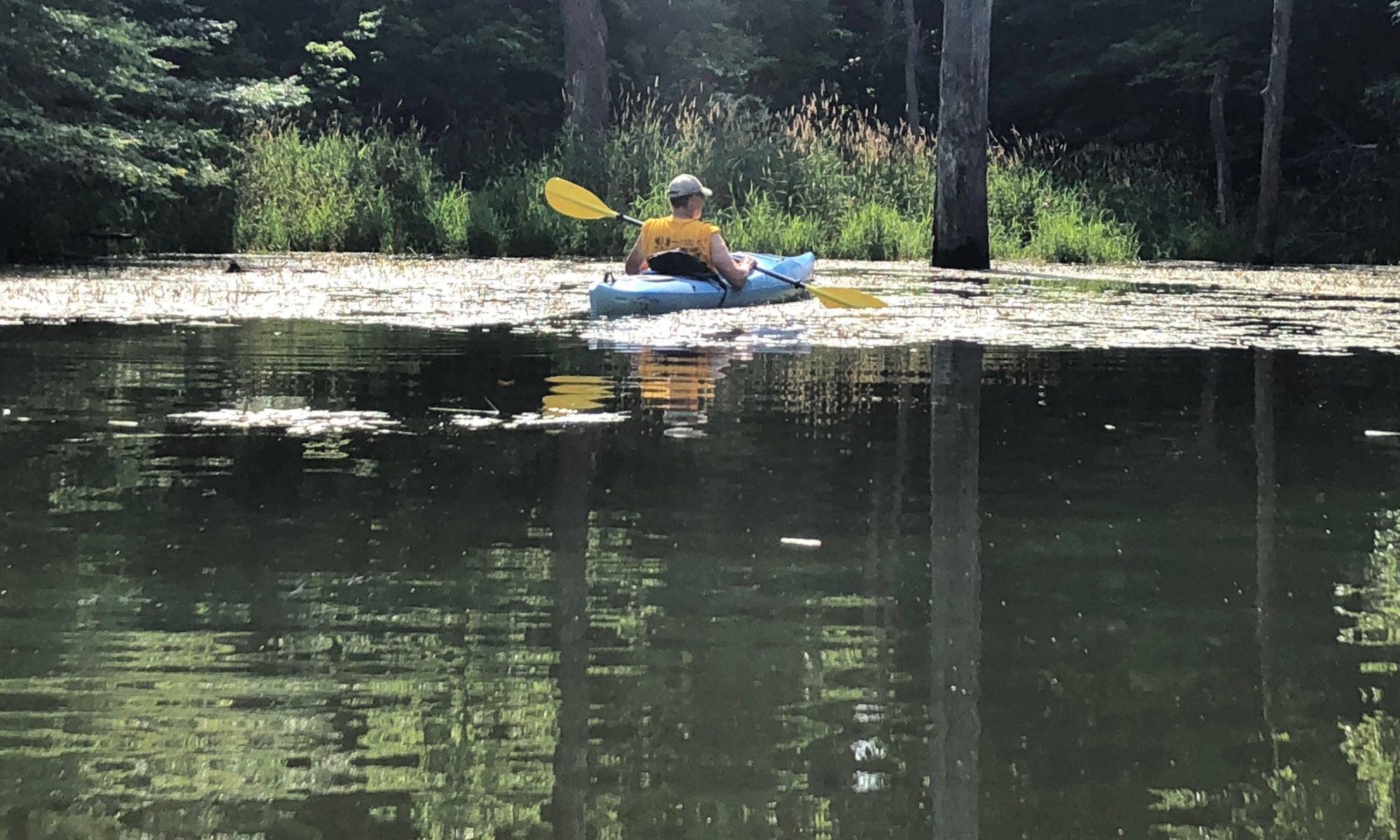 kayaking at panther creek