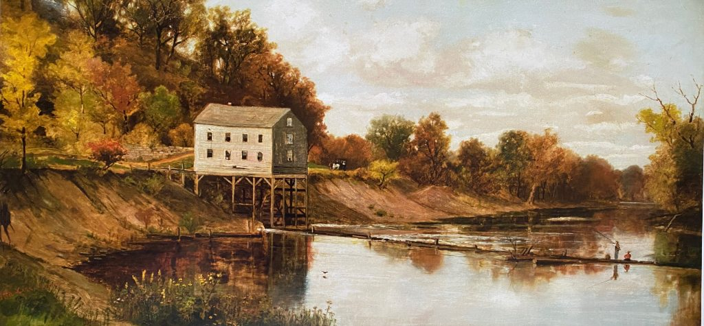 Grist Mill Print-12